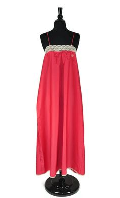 Coral Pink Givenchy Vintage Intimate Lingerie Night Gown Maxi Dress. Free shipping and guaranteed authenticity on Coral Pink Givenchy Vintage Intimate Lingerie Night Gown Maxi Dress at Tradesy. Givenchy Vintage Size Large / L 100% Polyester ...