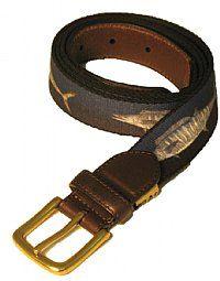 Miami Braided Elastic Belt Made in USA by Thomas Bates
