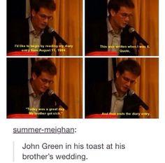 John Green is amazing. #textpost #johngreen