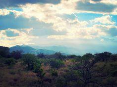 Views of Mount Kili as the sun is starting to set over the campsite #lakechala #lakes #africa #africanbush #mountkili #tanzania #travel #camping