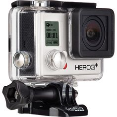 Capture and share your world. GoPro cameras make it easy to document and share your life's most interesting experiences. Enter to be 1 of 3 to win a new GoPro white camera! Camcorder, Gopro Hero 3 Silver, Wi Fi, Gopro Hd, Gopro Action, Rx7, Black Edition, Tech Gifts, Cool Things To Buy