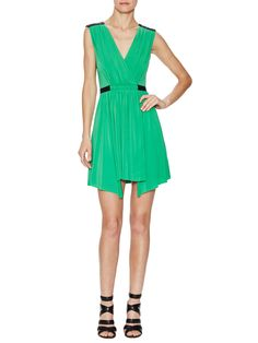 Olyvia Gathered Evening Dress from bcbg on Gilt
