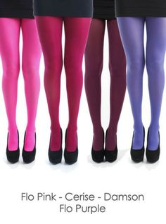 """Pamela Mann 80 Denier Tights - $8.85 Comes in 22 different colors I like the """"Damson"""" color in this set"""