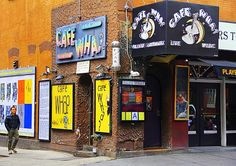 Cafe Wha, a photo from New York, Northeast | TrekEarth