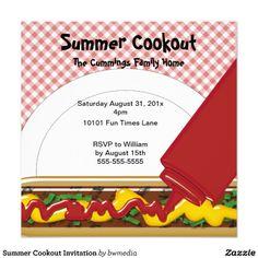 grillin and chillin invitation bbq and summer invites by fun
