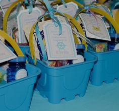 Project Nursery - Mermaid Party Under the Sea Birthday Party -  Favors