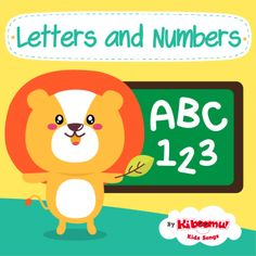 FUN learnings songs that teach letters and numbers! #preschool #efl #kindergarten