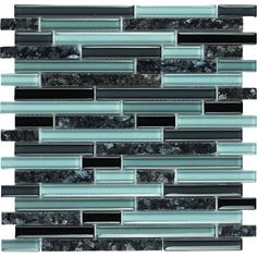 Epoch Architectural Surfaces Spectrum Random Sized Stone Composite Frosted Mosaic in Multi