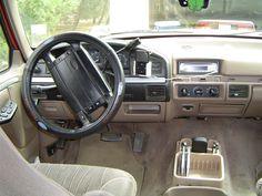 Superb Tan Interior Ford Bronco Showing Dash Design