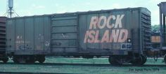 "Chicago Rock Island & Pacific boxcar ""The Rock"""