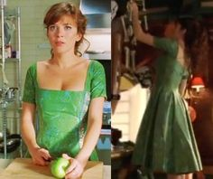 Because Chuck just has the best dresses