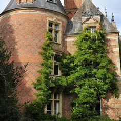 Château de Fontenil à St-Sulpice-sur-Risle. Normandie