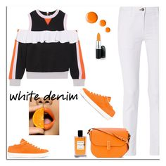 """""""Untitled #710"""" by jovana-p-com ❤ liked on Polyvore featuring No Ka'Oi, rag & bone, LEATHER CROWN, Valextra, Van Cleef & Arpels, Topshop and MAC Cosmetics"""