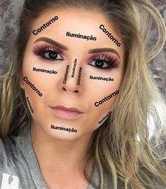 Outstanding Makeup inspiration info are readily available on our website. Read more and you wont be sorry you did. Contour Makeup, Blush Makeup, Glam Makeup, Beauty Makeup, Highlighting Contouring, Makeup Shop, Professionelles Make Up, How To Make Hair, Eye Makeup Steps