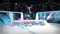 architectural  broadcast  camera  commercial  cubic  design  free  future  glow  interior  office  program  programm  studio  styled  tv  virtual