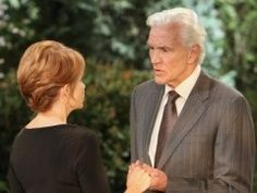 David Canary with Julia Barr in All My Children.