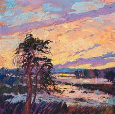 California impressionist oil painting by Erin Hanson