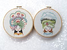 the girls by cozyblueliz, via Flickr from feelingstitchy