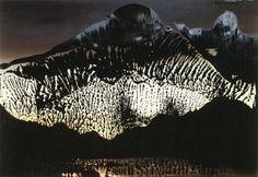 Sils Maria, 1989, Oil on photograph, Gerhard Richter