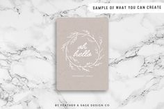 (Vector) Laurels, Wreaths, Banners by Feather & Sage Design Co on Creative Market