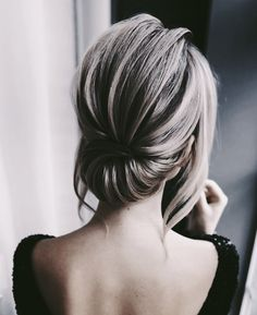 Wedding hairstyles updo elegant/ simple wedding hairstyles for short hair/ Wedding hairstyles updo vintage frisuren haare hair hair long hair short Rustic Wedding Hairstyles, Wedding Hairstyles For Long Hair, Wedding Hair And Makeup, Bride Hairstyles, Easy Hairstyles, Short Formal Hairstyles, Updo For Long Hair, Hairstyle Ideas, Hairstyle Wedding