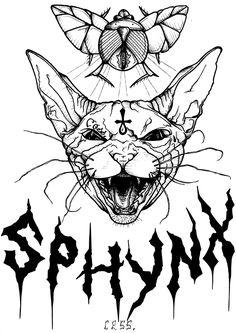 Sphynx on Behance