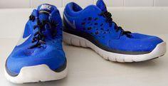 Boys NIKE FLEX 2015 RUN Sneakers Shoes RUNNING 6Y BLUE Black ATHLETIC Kids  #Nike #Athletic