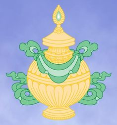 What Are the 8 Auspicious Symbols of Buddhism?: The Eight Auspicious Symbols: The Vase