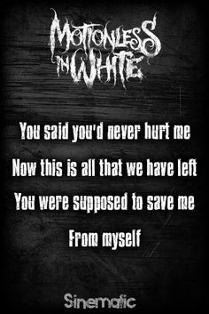 Sinematic- Motionless In White
