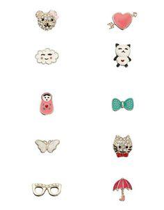 10 x Cute Dreamer Pack Studs