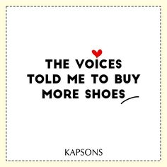 And my wardrobe always makes a space for it... #Kapsons #ShopForShoes