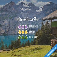 Mountain Air - Essential Oil Diffuser Blend