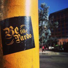 Sticker desde Bogotá! #belikepardo