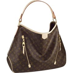 Louis Vuitton Monogram Canvas Delightful GM The spacious, sophisticated Delightful Monogram GM is the epitome of understated everyday style. Its supple yet durable Monogram canvas, lightweight feel and embossed handle give it a timeless charm Vuitton Bag, Louis Vuitton Handbags, Louis Vuitton Monogram, Louis Vuitton Delightful, Cheap Handbags, Purses And Handbags, Handbags Online, Handbags 2014, Purses Online