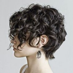 cool new Short Curly Hairstyles for womens 2015