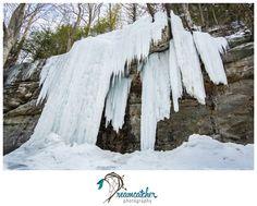 McConnells Mill - Frozen Waterfall www.nicdreamcatcher.com ©Nicole Iagnemma