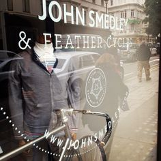 Window at our Flagship store, 24 Brook Street, London. W1K 5DG.