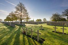 Lijssenthoek Military Cemetery - Poperinge, Belgium