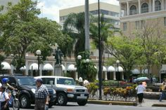 The Hotel Costa Rica in the heart of San Jose.