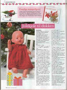 Christmas Dress for Baby Born - Mariann Vendelbo Borregaard - Веб-альбомы Picasa