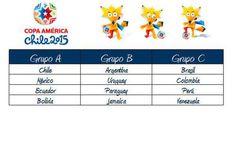 نتائج قرعة كوبا أمريكا التي ستقام في تشيلي 2015...ترى من هي مجموعة الموت www.1Boxoffice.com Copa America Chile 2015 Draw!! Which do you think is the group of DEATH