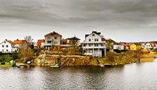 Pantarholmen Houses, Karlskrona (Sweden)