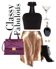"""Wine and Dine"" by mellowworldfashion on Polyvore featuring Boohoo, Nordstrom, Versace, Mellow World and Roberto Cavalli"