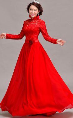 Traditional Chinese Wedding Dress   Women Dress Ideas   Dress ...