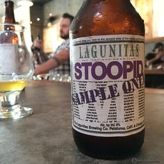 Lagunitas Stoopid Wit coming this month