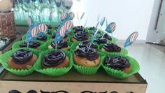 Chá de fraldas - cupcakes