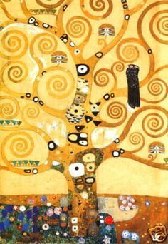 Klimt Tree of Life Pillow Cover - Google Search
