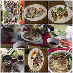 Vietnam sea food!