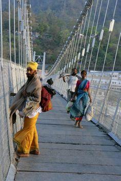Uttarakhand - Rishikesh Bridge over the Ganges Uploaded by user Rishikesh India, Haridwar, Amazing India, Timor Leste, India People, World Cities, Largest Countries, South India, Love