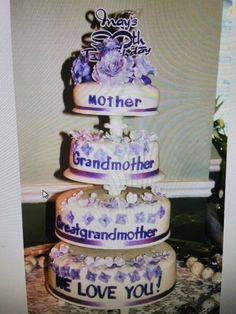 1000+ ideas about 90th Birthday Cakes on Pinterest | Birthday ...